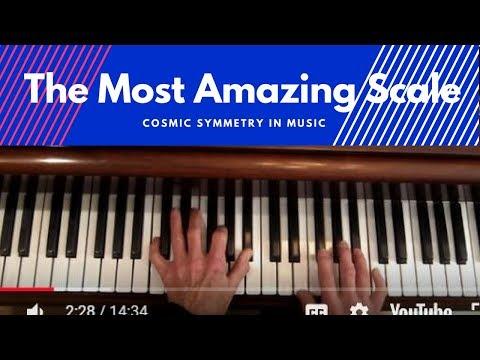 """The Most Amazing Jazz Scale"",  Jazz Piano Tutorial"