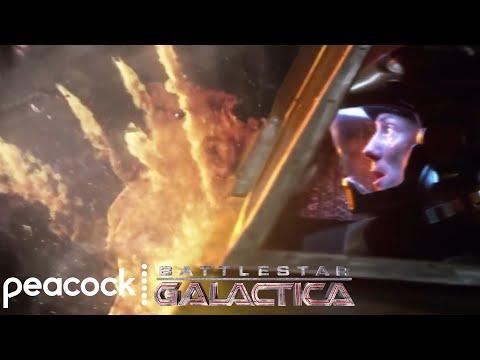 Battlestar Galactica   Best Space Battles