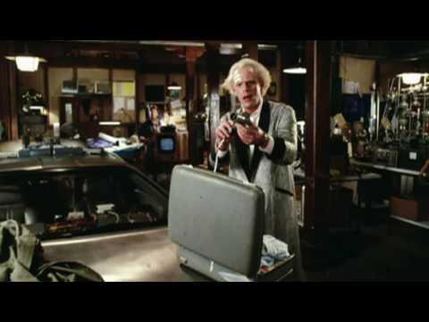 Вырезанная сцена из фильма Назад в будущее - Личные вещи Дока