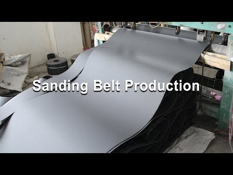 Sanding Belt Production