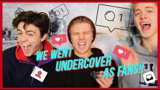 TALKING TO FANS UNDERCOVER!! MP3
