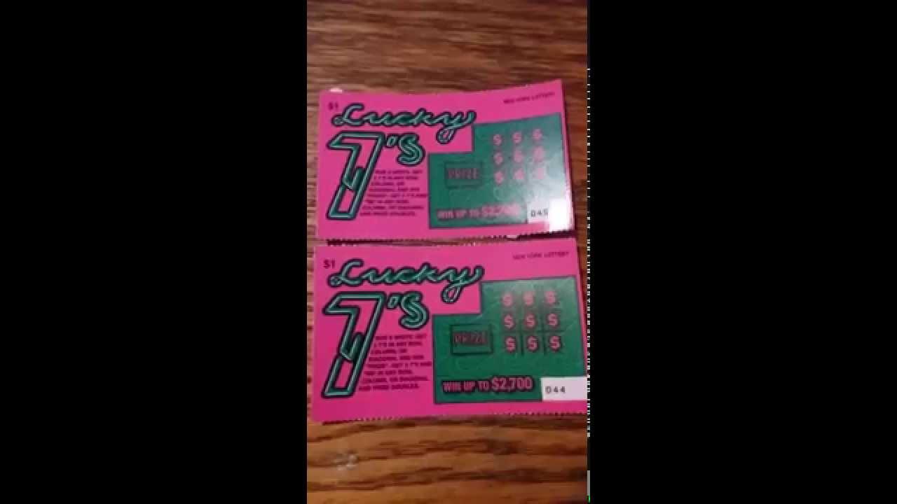 LUCKY 7s NY lottery #1
