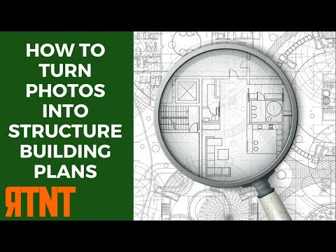 How to Turn Photos into Model Structure Building Plans