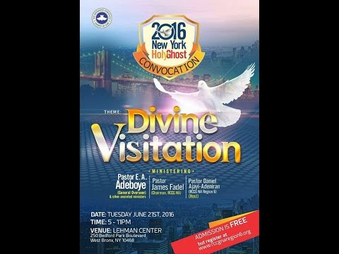 2016 NEW YORK HOLY GHOST CONVOCATION_DIVINE VISITATION