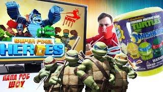 - КСКН и Черепашки. Обзор игры Super Pixel Heroes. Челлендж