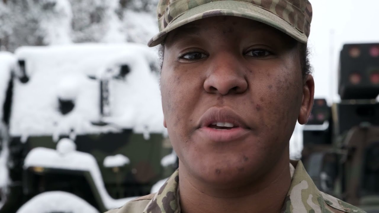 US Army – First Female African American • Master Gunner on the Avenger – Anti-Aircraft Platform