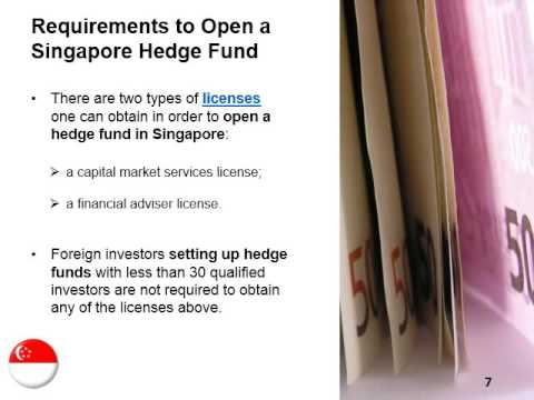 Open a Hedge Fund in Singapore