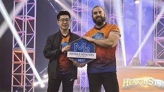 Bajheera - MOBILE MASTERS 2017 HEARTHSTONE CHAMPION! - Tournament Recap Vlog
