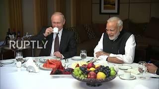 Russia: Modi and Putin take a lavish tour of Sochi