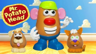 MR. POTATO HEAD 🐶  SPUD DOGGY 🐱  SPUD KITTY Play set