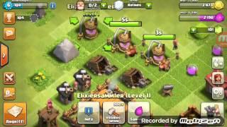Let's play Clash of clans #002 ziel nicht erreicht