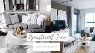 APARTMENT TOUR! | LIVING ROOM EDITION | Ab And Gab