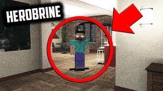 HEROBRINE VISITED ME IN REAL LIFE!? - Garry's Mod Gameplay - Herobrine Sighting