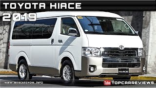 2019 TOYOTA HIACE Review Rendered Price Specs Release Date