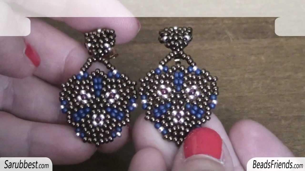 Sarubbest orecchini con perline orecchini con perline for Fai da te creazioni