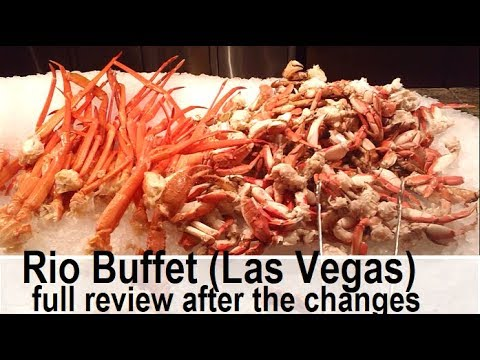Rio Buffet in Las Vegas:  Back to the Top?  But watch out! Full review from top-buffet.com