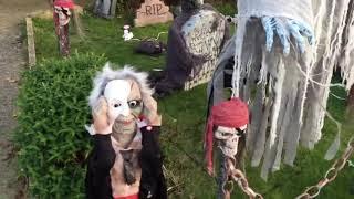 Halloween Display October 2014 UK Daylight