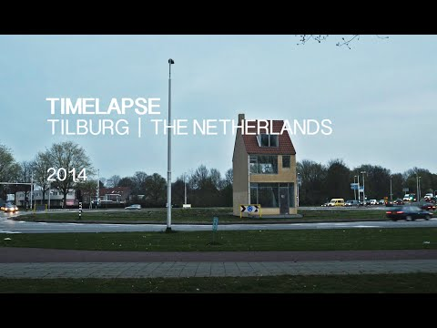 Timelapse Tilburg: A day in Tilburg | The Netherlands 2014