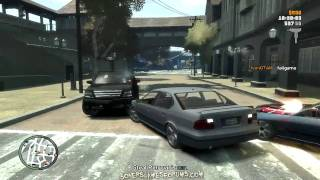 GTA IV - PC - Online Multiplayer - Looong Team Mafia Work!