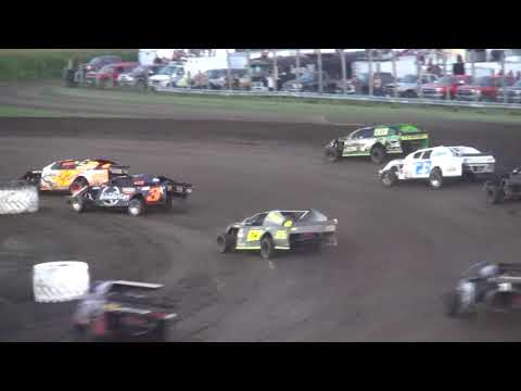 IMCA Sport Mod Season Championship feature Benton County Speedway 8/20/17