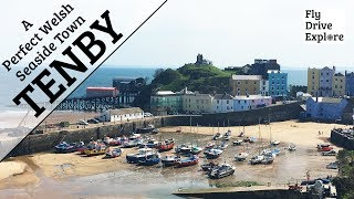 Video Tenby, Pembrokeshire - A Perfect Welsh Seaside Town download MP3, 3GP, MP4, WEBM, AVI, FLV April 2018