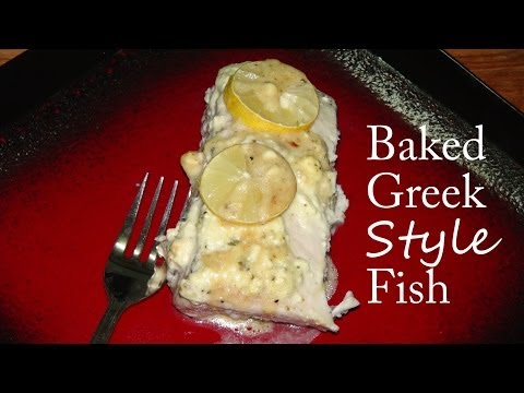 Baked Fish Recipe With Feta Cheese
