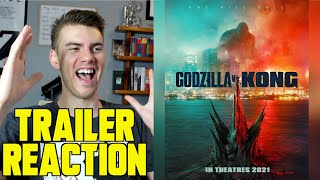 Godzilla vs Kong (2021) - TRAILER REACTION