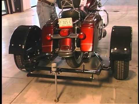 harley davidson flh 2001 earlier voyager trike kit. Black Bedroom Furniture Sets. Home Design Ideas