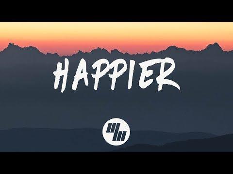 Marshmello - Happier (Lyrics) ft. Bastille