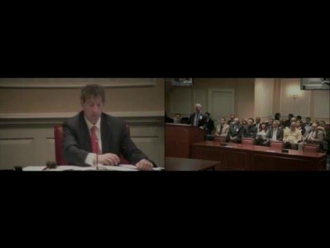 Senator Raskin has No Questions for Richard Jurgena