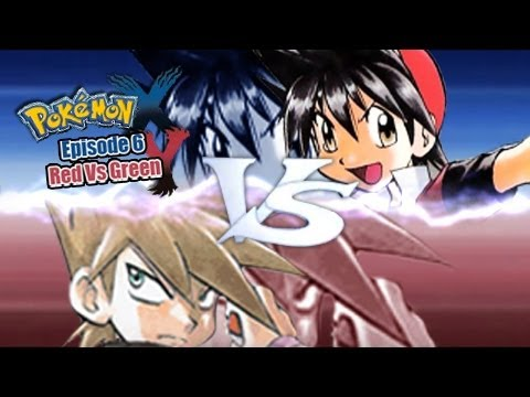 Pokemon X And Y Wifi Battle Manga Red Vs Manga Green