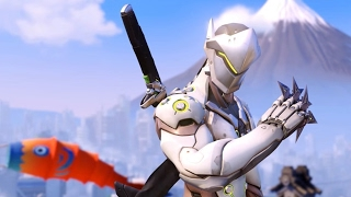 Full Match of Genji in Heroes of the Storm