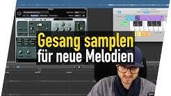 Gesangsufnahme samplen um neue Melodien zu kreiieren! | abmischenlernen.de