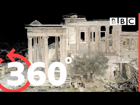 360° Explore the ancient Acropolis in Athens - BBC