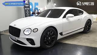 2019 벤틀리 뉴 컨티넨탈 GT 6.0 W12