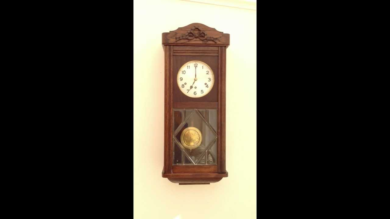 Hac junghans ave maria lourdes chime wall clock youtube amipublicfo Choice Image