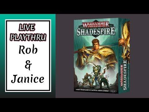 Warhammer Underworlds: Shadespire - Live Playthru
