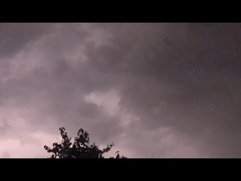 Just a major thunderstorm in the Chicago north suburbs July 12, 2017 Timelapse