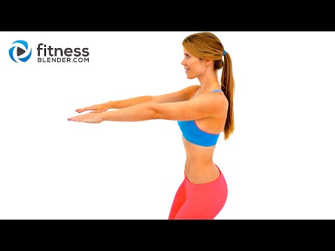 Calorie Burning Low Impact Cardio Workout for Beginners - Recovery Cardio Workout with No Jumping