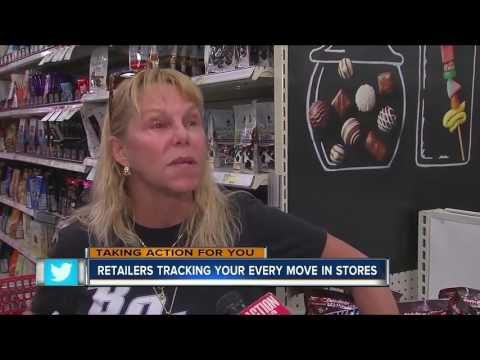 Retailers tracking your every move in stores