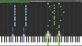 [Synthesia][MIDI] Katekyo Hitman Reborn - Tsuna Awakens (츠나 각성)