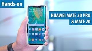 Huawei Mate 20 Pro im Hands-on: Triple-Kamera, KI und lange Laufzeit