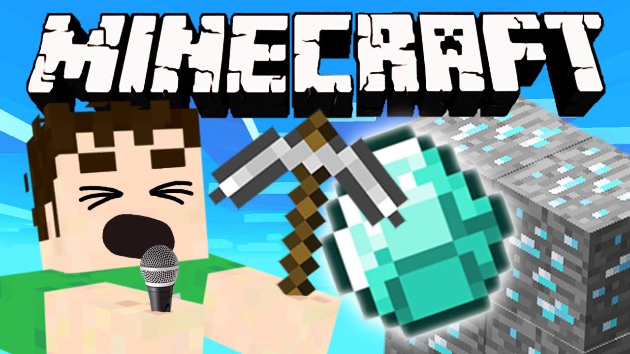 Minecraft - MINE THE DIAMOND - YouTube