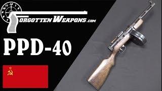 Soviet PPD-40: Degtyarev's Submachine Gun