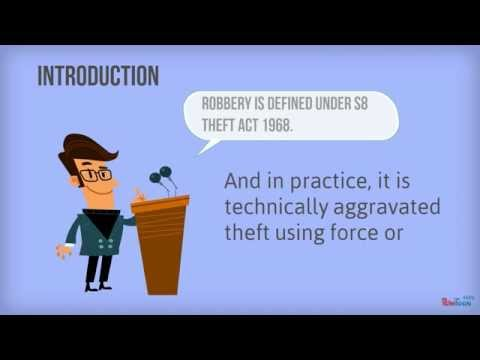 Robbery - A2 Criminal Law