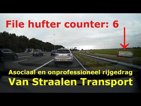 File Hufters: Asociaal en onprofessioneel rijgedrag Van Straalen Transport