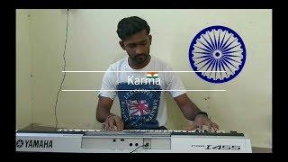 Har Karam Apna karenge -Karma on Yamaha keyboard I455 instrumental cover by Anand
