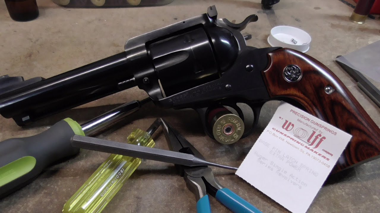 Ruger Single Action - Fixing The Timing
