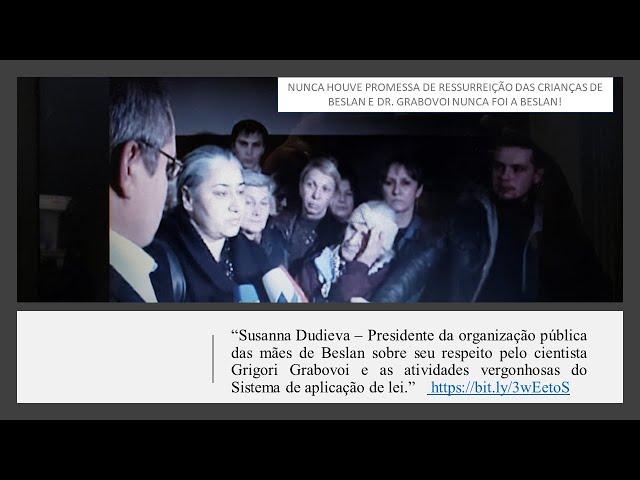 Nunca existiu promessa de ressurreição das crianças de Beslan pelo Dr. Grigori Grabovoi!!!