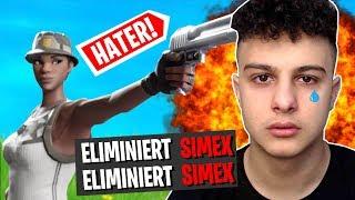 ich STREAMSNIPE meinen HATER Simex mit RECON EXPERT bis er AUSRASTET er WEINT